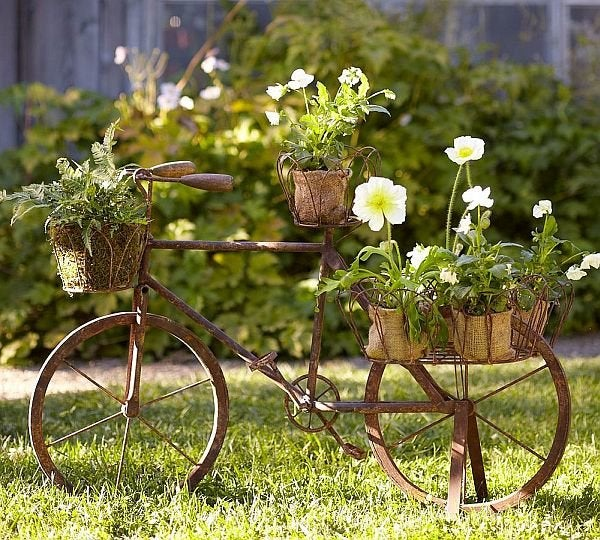 DIY Old Bicycles - Planter