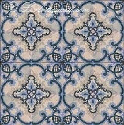 Encaustic Tile L'Antiguario