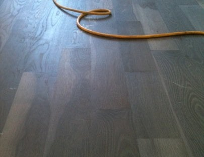 Wood Floors Go Gray - Buffing