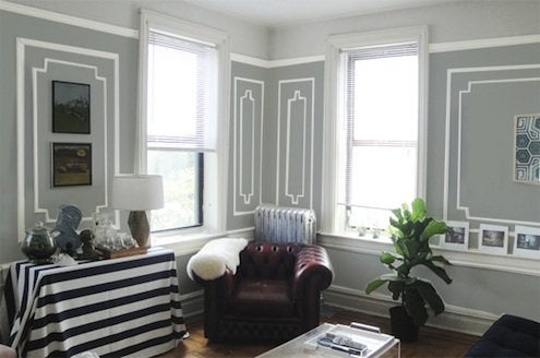 How to Paint Trim - Wall Decor