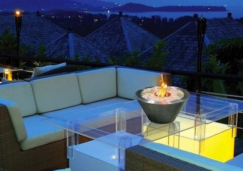 Tabletop Fireplace - NY International Gift Fair