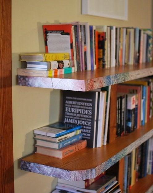 DIY Bookshelf - Reclaimed Lumber