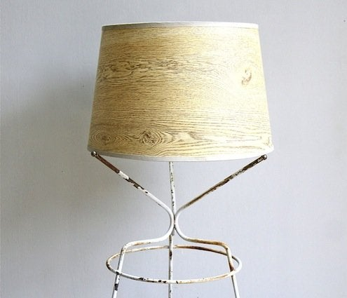 Faux Bois Lampshade