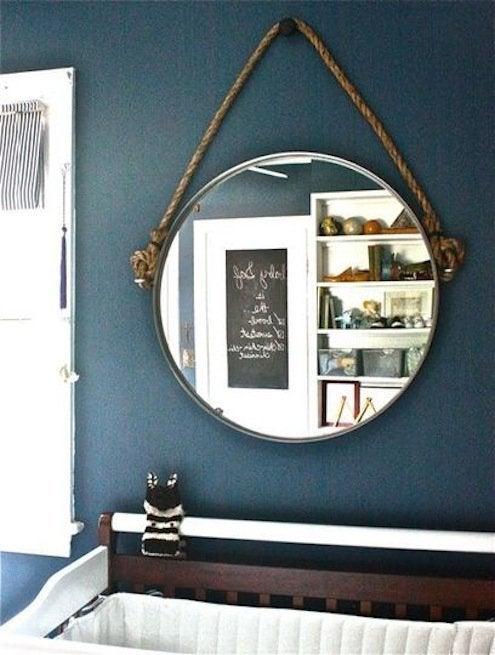 Rope Mirror Hanging