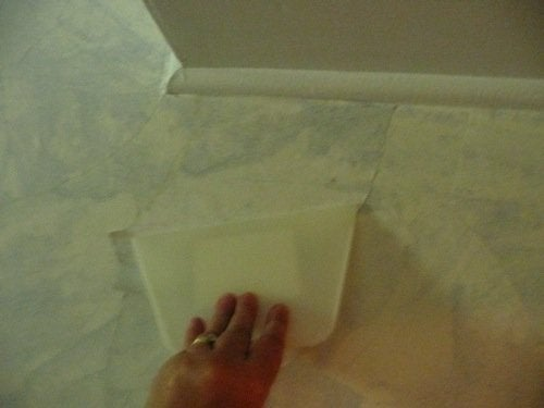 DIY Faux Finish Wall Covering