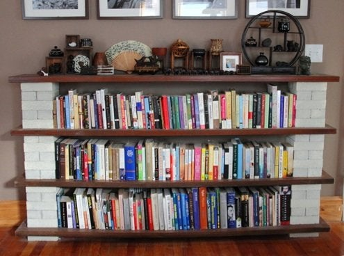 DIY Bookshelf - Blocks