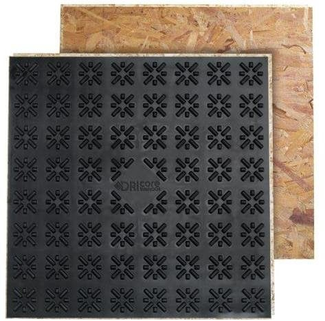 DRIcore 2' x 2' Laying a Subfloor Panels