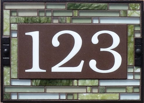 House Numbers - The Tile and Iron Studio