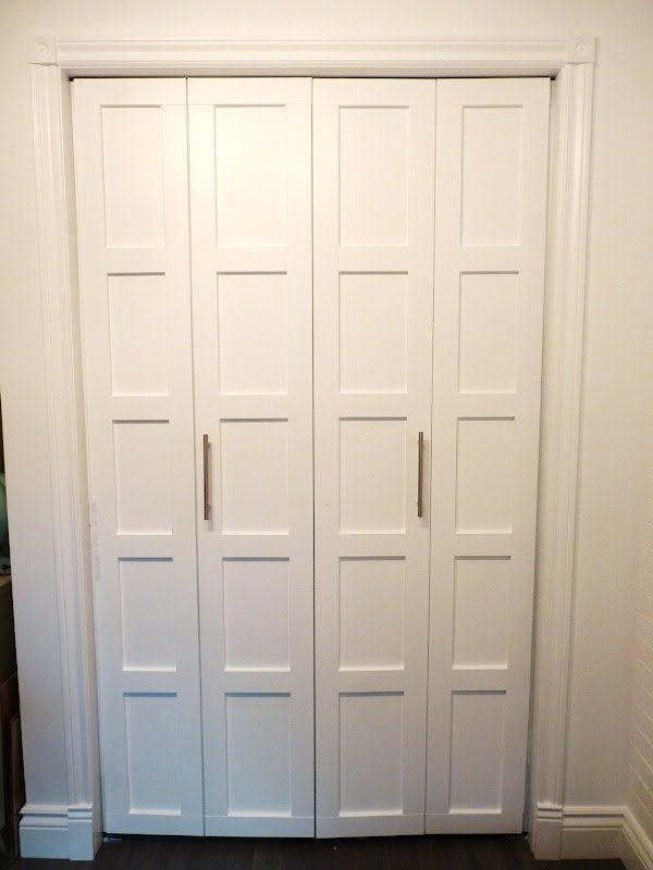 Closet Door DIY - Board and Batten
