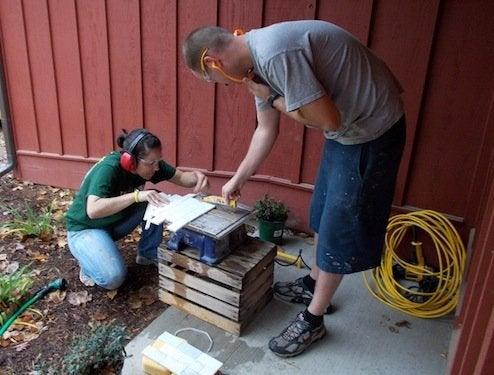 Renovation Road Trip - Cutting Tile