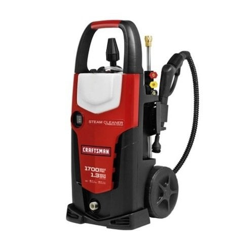 Using a Pressure Washer - Craftsman with Steam Cleaner