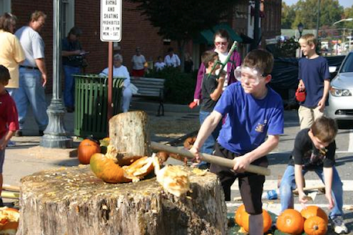 Pumpkin Festivals - Pumpkin Smashing Event