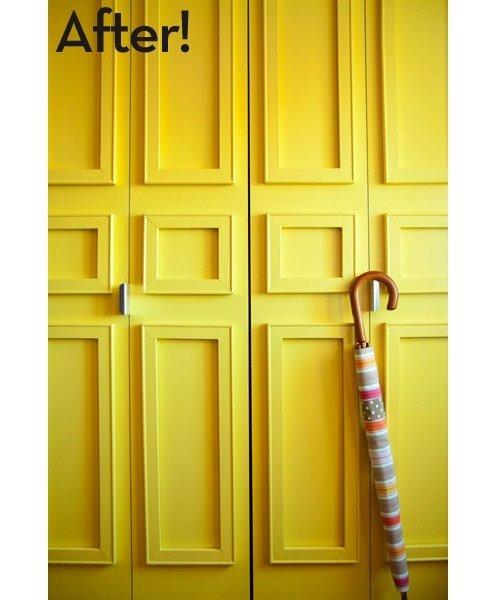 Closet Door DIY - Trim