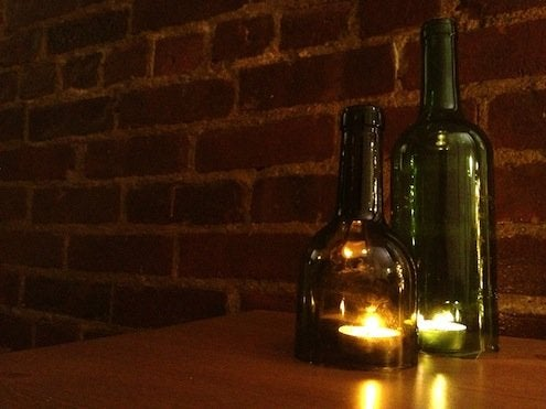 How to Cut Wine Bottles - Candle Covers
