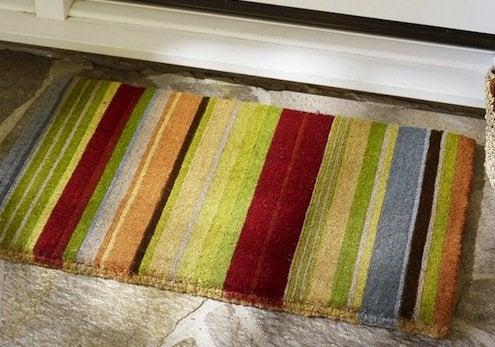 Striped Doormat