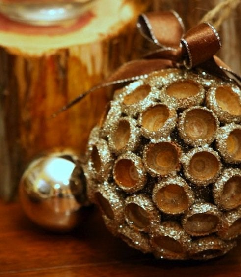 DIY Acorn Ornaments