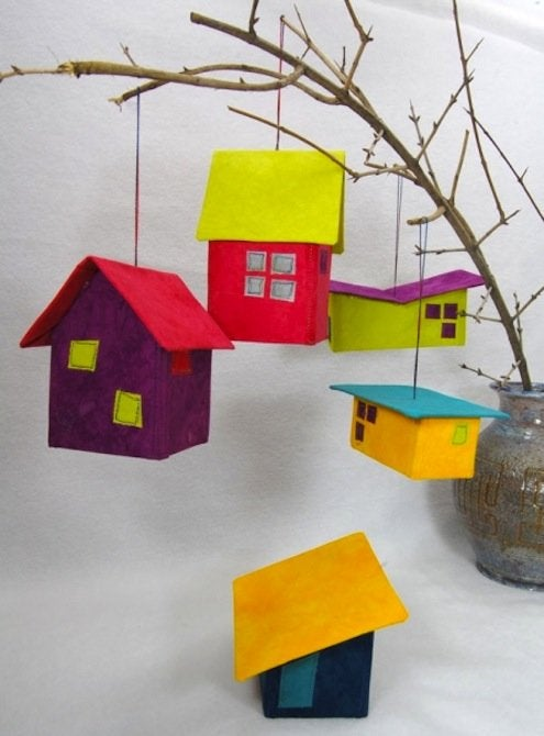 DIY House Ornaments