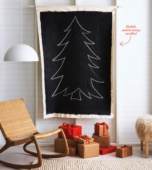 DIY Christmas Tree - Canadian House & Home