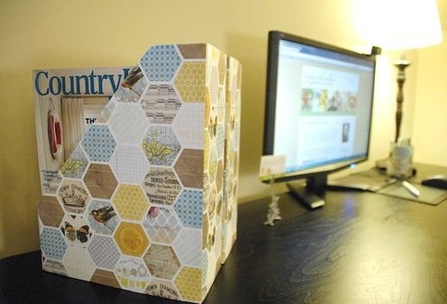 DIY Organization Ideas - Cereal Box Magazine Holders