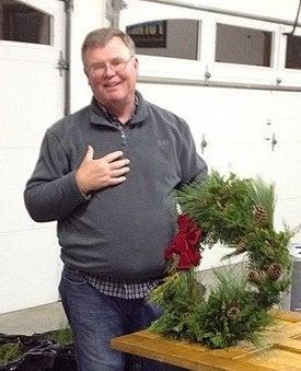Wreath-maker, Jim Landon