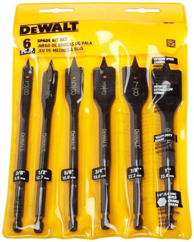 The Best Drill Bits (Spade): DeWalt