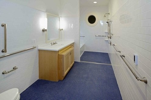 Michael Graves Architect - Wounded Warrior Home Bathroom