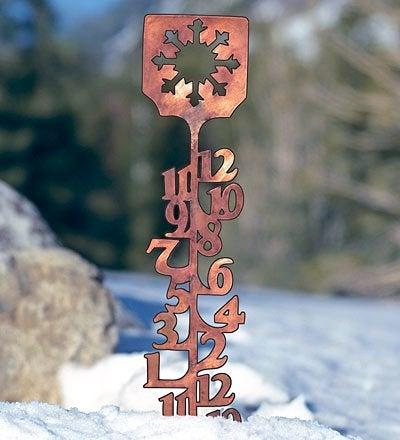 Snow Measurement - Metal Gauge