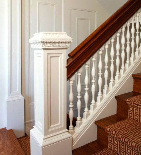 Interior Architectural Details - Newel Post