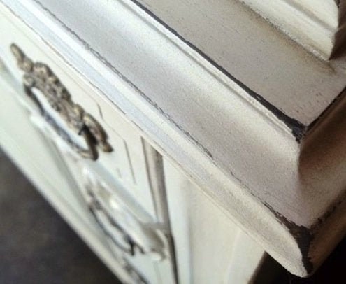 DIY Furniture Updates - Distressed Look
