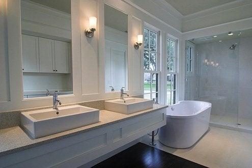 Update Bathroom - Minimalist Bath Design