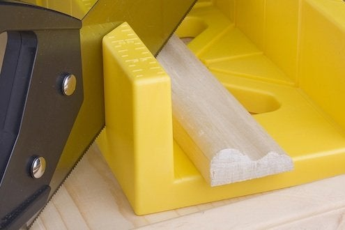 How to Use a Miter Box - Sawing Trim