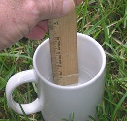 Watering the Lawn - Calculate Irrigation