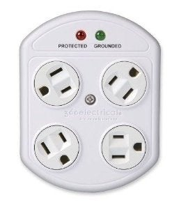 Smart Outlets - Rotating Surge Protector