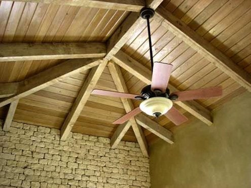 How to Install a Ceiling Fan - Rod