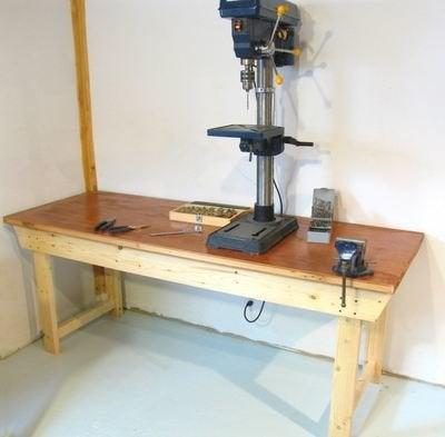 Workbench Plans - DIY Workbench from Woodgears