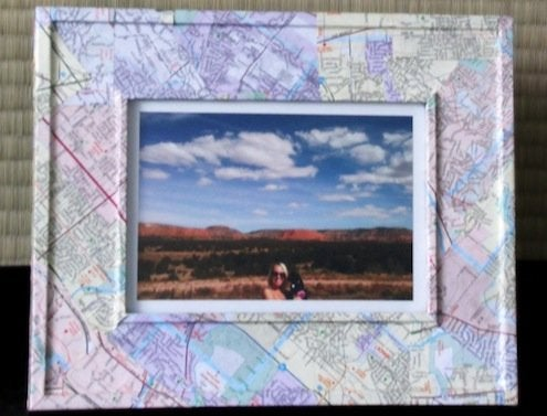 Map DIY - Picture Frame