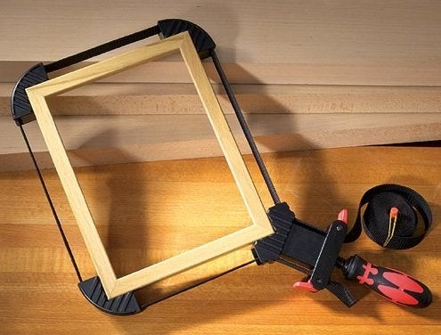 How to Make a Mitered Corner - Strap Clamps