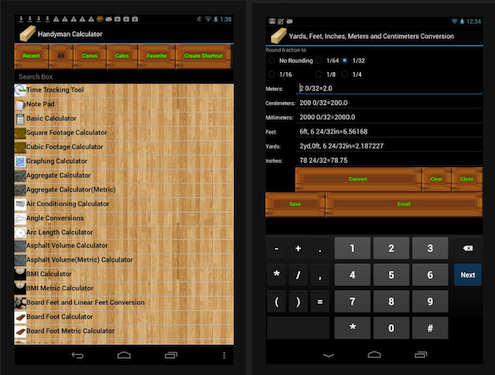 Renovation App - Handyman Calculator