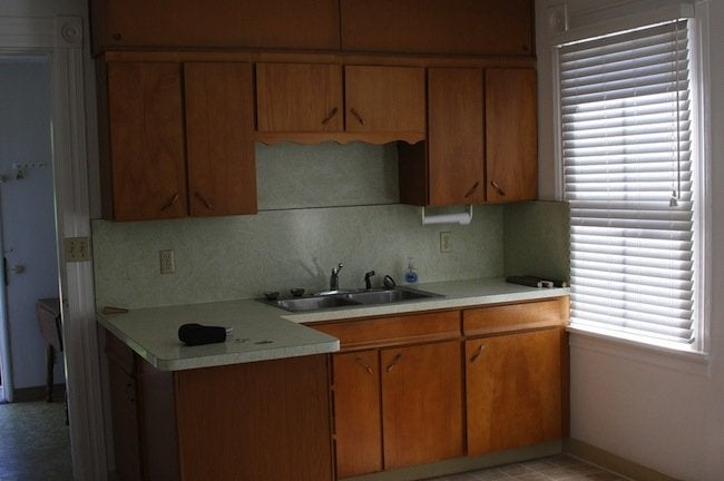 original kitchen cabinets