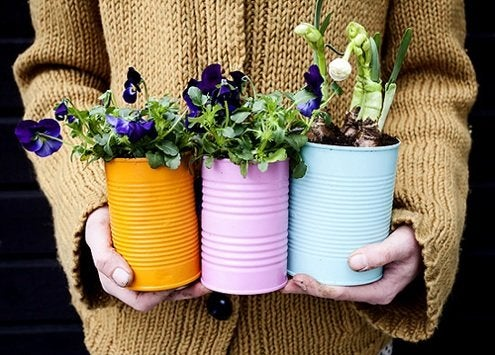 Tin Can Projects - Planters