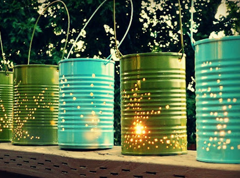 Tin Can Projects - Lanters
