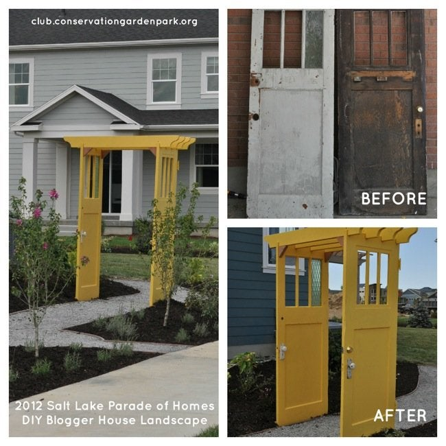 DIY Curb Appeal Projects - Arbor