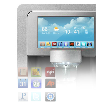 Samsung Refrigerator Digital Display Panel