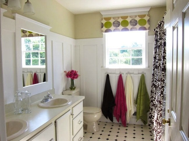 DIY Bathroom Ideas - Board And Batten