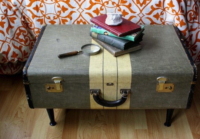 Luggage DIY Projects - Coffee Table