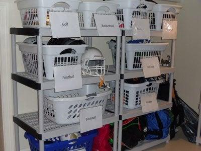 Sports Storage - Laundry Bins