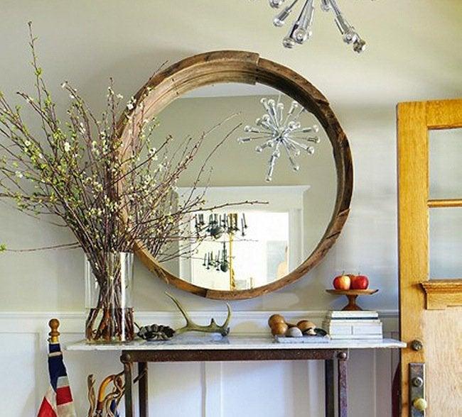 Wine Barrel DIY - Mirror