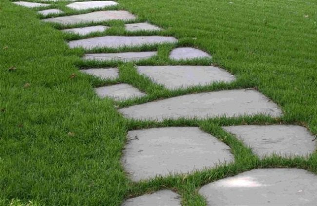 DIY Curb Appeal Projects - Stone Path