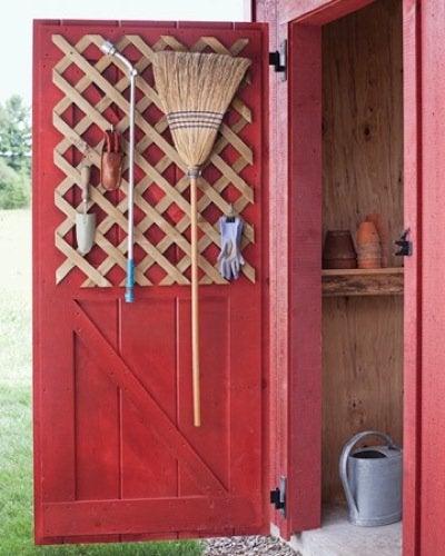 Lattice DIY Projects - Tool Rack