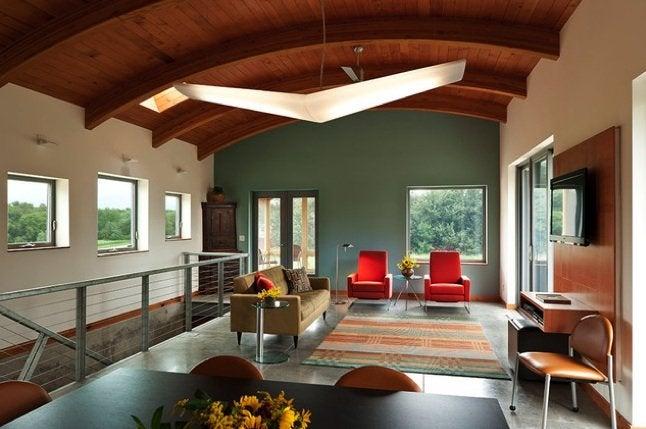 Interior Paint Color Schemes - Open Plans